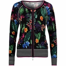 Betty Barclay Floral Print Cardigan