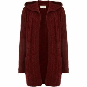 Maison De Nimes CABLE HOODED CARDIGAN