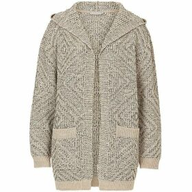 Betty Barclay Chunky knit hooded cardigan