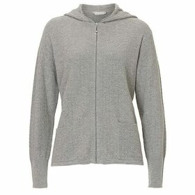 Betty Barclay Textured knit cardigan with hood