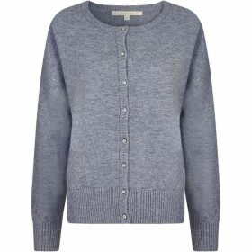 Nougat Willow Crew Neck Cardigan