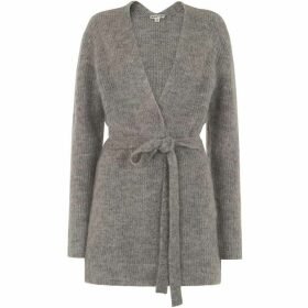 Whistles Mohair Belted Cardigan