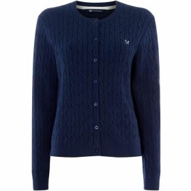 Crew Clothing Company Cable Cardigan