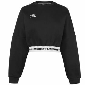 Umbro Long Sleeve Cropped Jumper