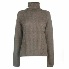 Label Lab Label Chunky Cable Knit Jumper Ladies