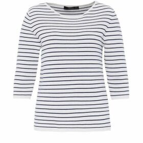 Hallhuber Ribbed Stripe Jumper