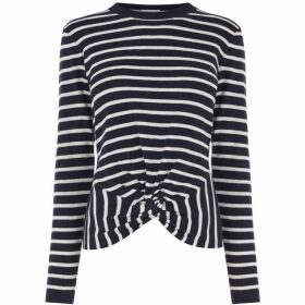 Warehouse Stripe Twist Front Jumper