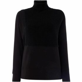 Crea Concept High neck rob detail jumper