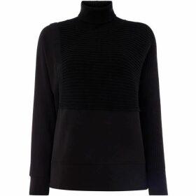 Crea Concept High neck rob detail jumper