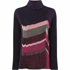 Crea Concept Stripe knit jumper