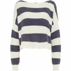 Free People Just My Stripe Pullover Jumper