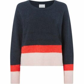 Samsoe and Samsoe Nor short stripe jumper
