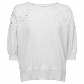 French Connection Salerno Knit Lace Jumper