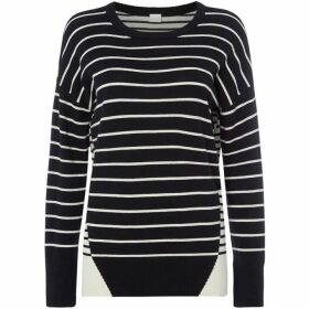 Boss Wanina stripe jumper