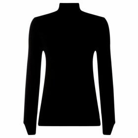 Salsa Mount Sinai Lurex Funnel Neck Jumper
