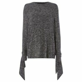 Noisy May Millie Tie Sleeve Jumper