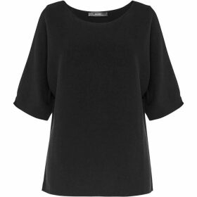 Hallhuber Fine Knit Cold Shoulder Jumper