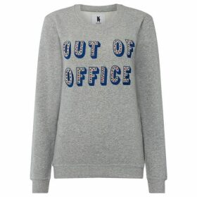 Blake Seven Out Of Office Grey Jumper