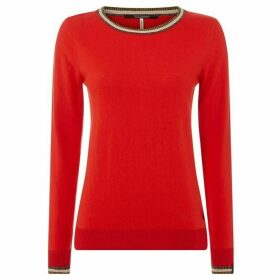 Maison Scotch Ribbed lightweight pullover