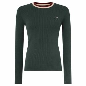 Jack Wills Rosefield Crew Neck Rib Jumper