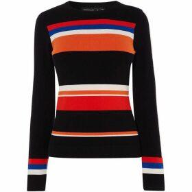 Karen Millen Colourblock Knit Jumper