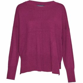 French Connection Della Vhari Long Sleeved Crew Neck Jumper