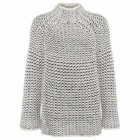 French Connection Zoe Knits High Neck Tunic Jumper