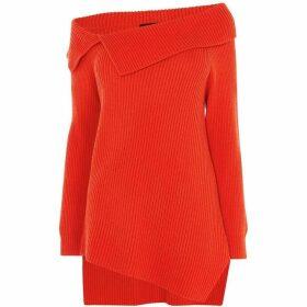 Karen Millen Bardot Knit Jumper