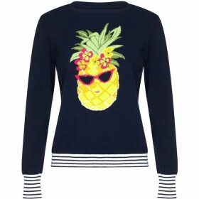 Yumi Embellished Pineapple Jumper