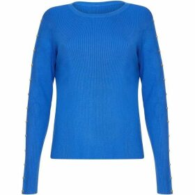 Yumi Studded Sleeve Jumper