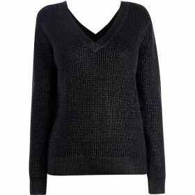 Karen Millen Knit V-Neck Jumper