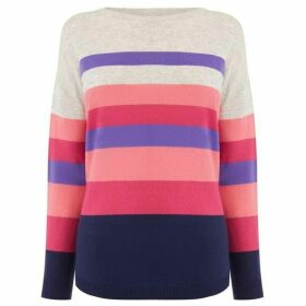 Oasis Bridgette Stripe Jumper
