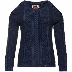 Superdry Acid Wash Cold Shoulder Jumper