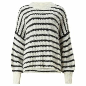 All Saints Renne Stripe Jumper