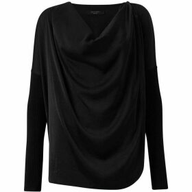 All Saints Erma Cowl Neck Jumper