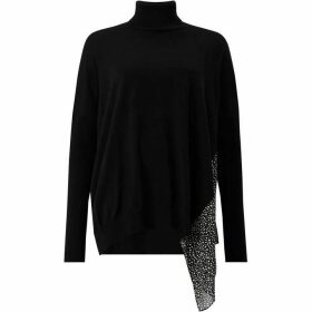 All Saints Alda Splash Roll Neck Jumper
