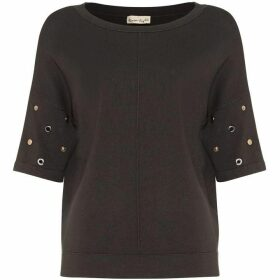Phase Eight Marjory Metal Trim Knit Jumper