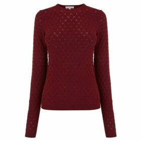 Warehouse Diamond Stitch Jumper
