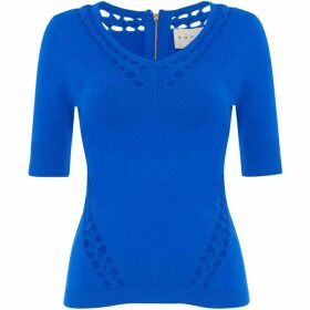 Damsel in a Dress Petra Cut Out Knit Jumper