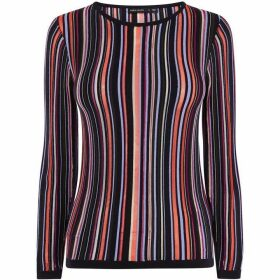 Karen Millen Striped Knit Jumper