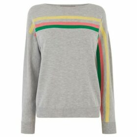 Oasis Lettie Flash Stripe Jumper