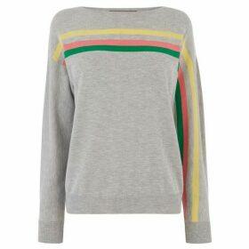 Oasis Lettie Flash Stripe Jumper