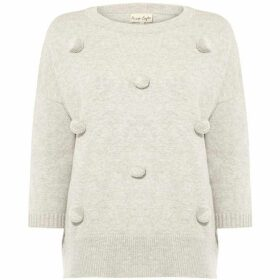 Phase Eight Page Pom Pom Knitted Jumper