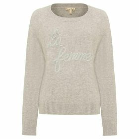 Phase Eight La Femme Logo Knit Jumper