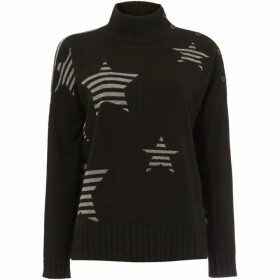 Phase Eight Shawna Stripe Star Knit Jumper