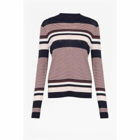 Great Plains Multi Stripe Roll Neck Jumper