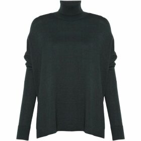 Great Plains Guernsey Stitch High Neck Jumper