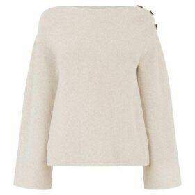Oasis Tilly Button Shoulder Jumper