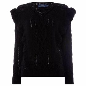Polo Ralph Lauren Ruffle Detail Jumper