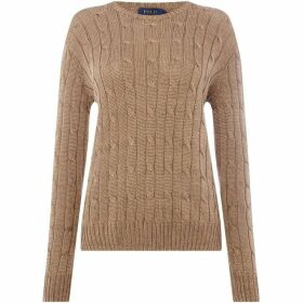 Polo Ralph Lauren Metallic Cable Knit Jumper